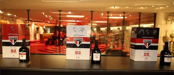 Vinho oficial do São Paulo (Foto: Igor Amorim/saopaulofc.net)