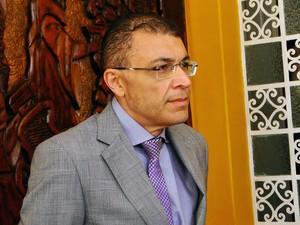 Vereador Albert Dickson participou da reunião com Paulinho Freire e outros vereadores antes da posse (Foto: Ricardo Araújo/G1)