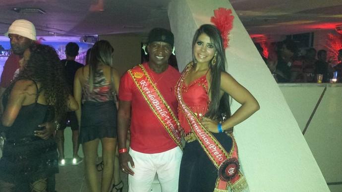 Ex-jogadores do Flamengo no Baile do Vermelho e Preto (Foto: Divulgação)