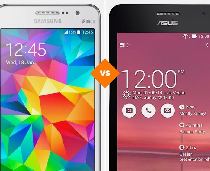 Galaxy Gran Prime ou Zenfone 5: decida qual celular de R$ 700 vale a pena comprar (Foto: Arte/TechTudo)