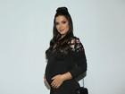 Thais Fersoza sobre 2ª gravidez: 'Quase no 5º mês e não engordei'