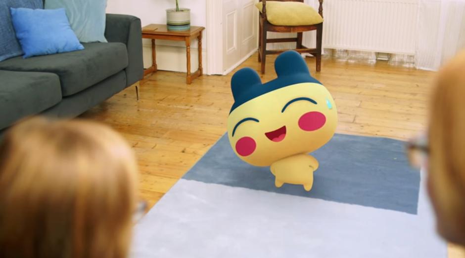 De acordo com o trailer da empresa, o aplicativo poderá oferecer funções de realidade aumentada (Foto: Reprodução/YouTube/Bandai)