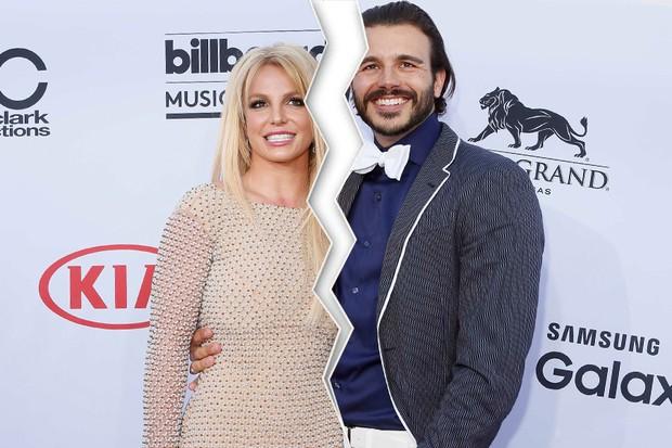 Britney Spears e o namorado, Charlie Ebersol (Foto: Reuters)