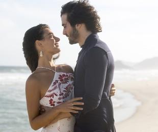 Isis Valverde e Fiuk em 'A força do querer'  | TV Globo/Divulgação