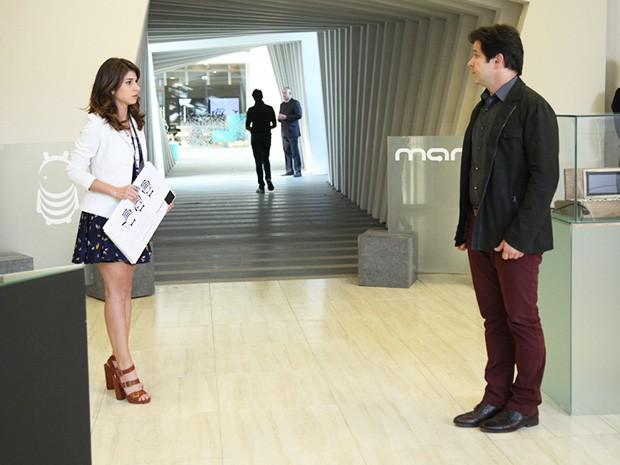 Man aproveita a presença de Jonas na Marra Brasil para conversar com ele (Foto: Carol Caminha/TV Globo)