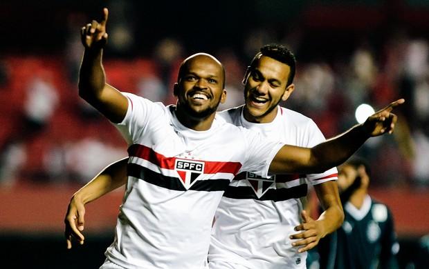 São Paulo x Goiás - Edson Silva  (Foto: Miguel Schincariol / Agência Estado)