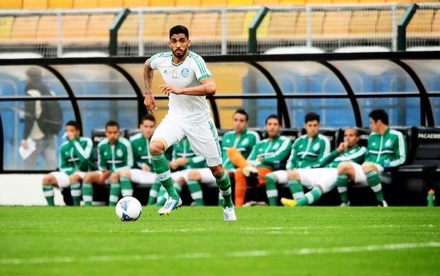 vilson Palmeiras Paysandu série B (Foto: Marcos Ribolli / Globoesporte.com)