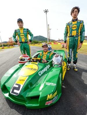 Felipe Fraga disputa 500 Milhas do Kart (Foto: José Mário Dias/ Divulgação)