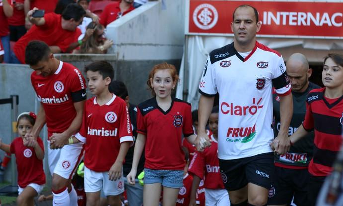 luiza brasil de pelotas inter internacional beira-rio gauchão  (Foto: Diego Guichard/GloboEsporte.com)