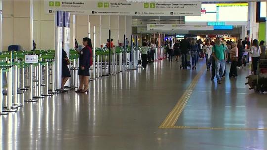 Funcionamento é normal no Aeroporto Internacional de Brasília