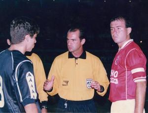 Juninho, Simon e Marcelo Fernandes - América-RN x Vasco (Foto: Ribamar Cavalcante/Arquivo Pessoal)