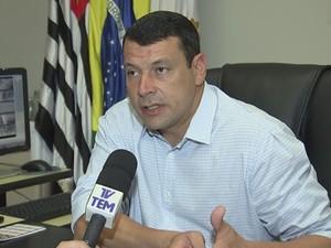 Prefeito Manu diz entregar Santa Casa em ordem à nova equipe (Foto: Reprodução/ TV TEM)