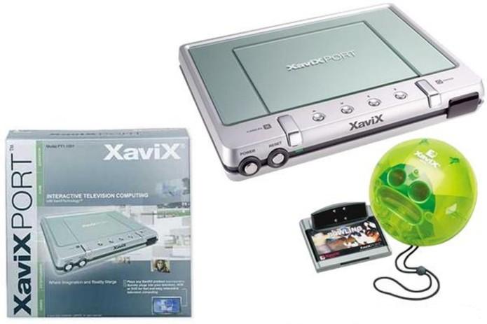 O obscuro XaviXPorT trouxe a inovação dos controles por movimento dois anos antes do Nintendo Wii aparecer  (Foto: Reprodução/TheGameConsole)