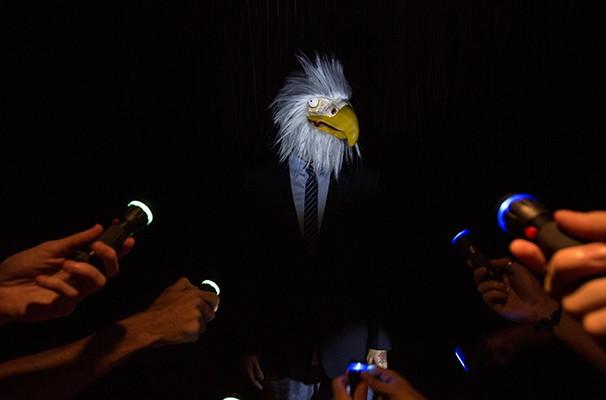As apresentações de 'Iscas para amansar falcões' acontecem de 5 a 7 de dezembro (Foto: Divulgação)