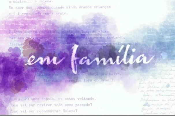 logo novela Em Família (Foto: Divulgação/RBS TV)