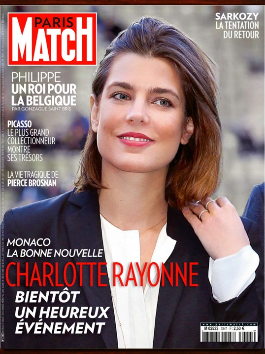 charlotte casiraghi na capa da paris match depois de nota dada na coluna foto reprodu o