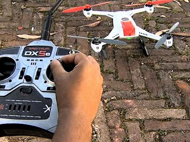 Drone JH (Foto: Reprodução: TV Globo)