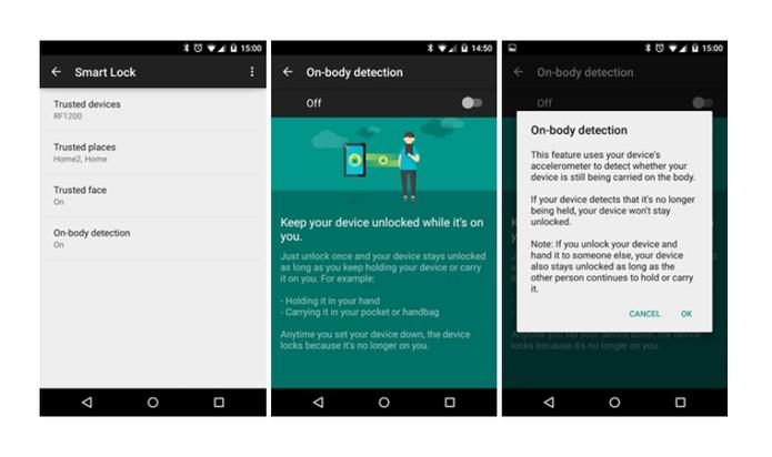Função usa acelerômetro para perceber se Android está perto do dono ou não (Foto: Reprodução/Android Police)