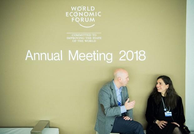 Fórum Econômico Mundial começa amanhã na Suíça (Foto:  World Economic Forum/Boris Baldinger)