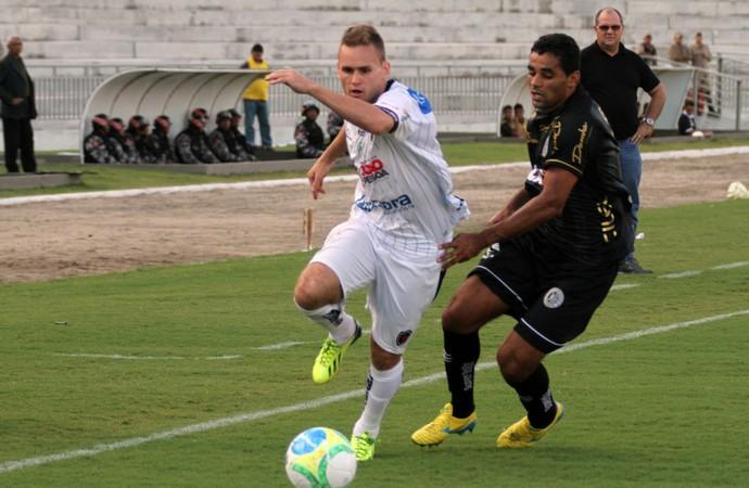 Botafogo-PB x ASA, Almeidão (Foto: Francisco França/Jornal da Paraíba)