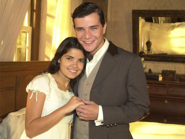 Vanessa Giácomo e Daniel de Oliveira em 'Cabocla' (2004)