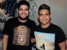 Henrique e Juliano se derretem pelo pai: 'Importância grande na carreira'