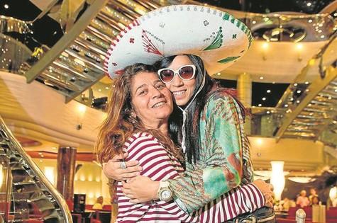 Cris D'Amato e Thalita Carauta  (Foto: Mariana Vianna)