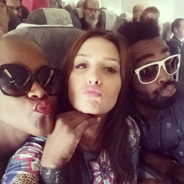 Angelica, Tamires e Douglas (Foto: Reprodução/Instagram)