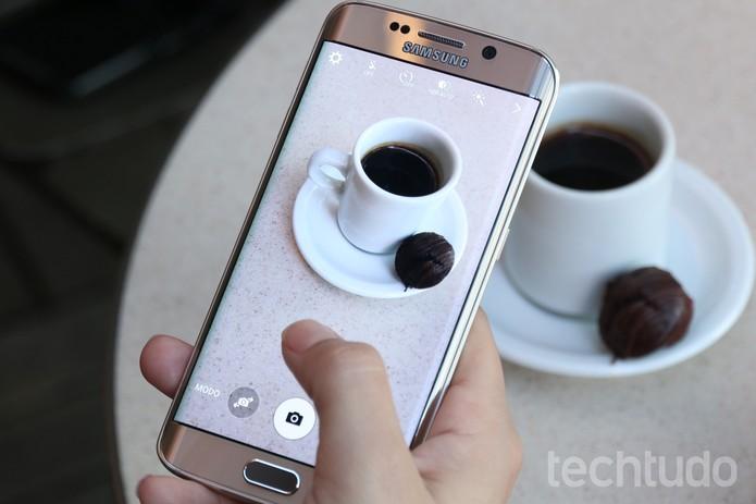 Câmera do Galaxy S6 é uma das melhores do mercado (Foto: Lucas Mendes/TechTudo)