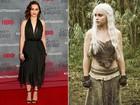 Compare o estilo das atrizes de 'Game of thrones' dentro e fora da TV