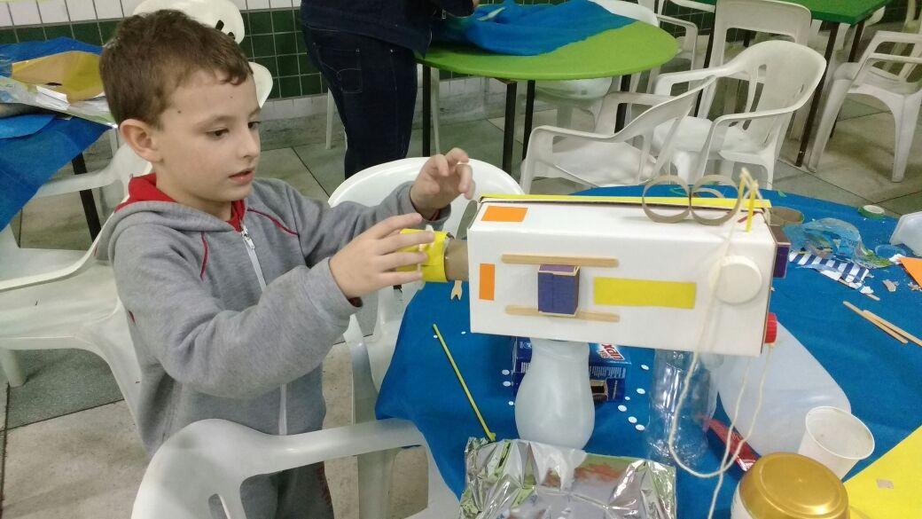 Caio Schineider de 4 anos, filho de Alex Ferreira, cinegrafista da TV Tribuna (Foto: Alex Ferreira / Arquivo Pessoal)