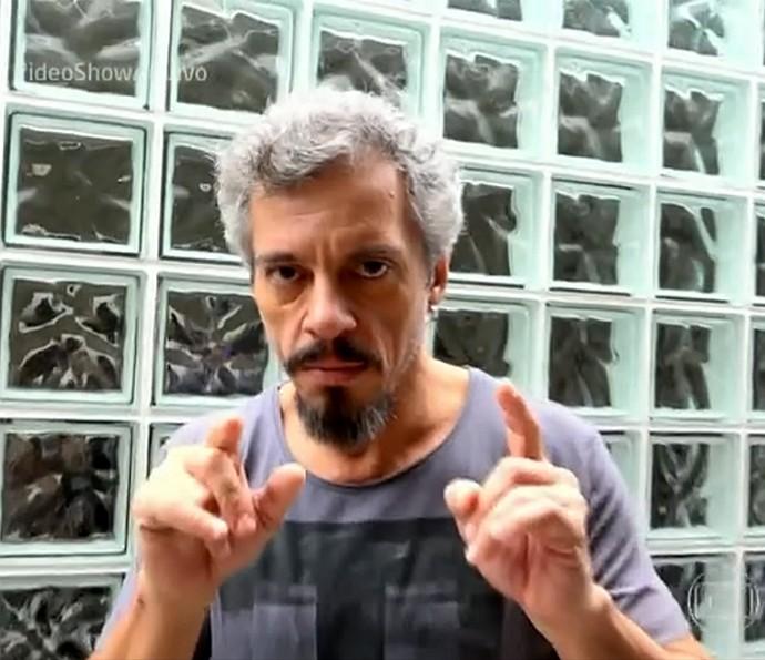 Osvaldo Mil se fingiu de vidente no Fantástico (Foto: Vídeo Show / Gshow)