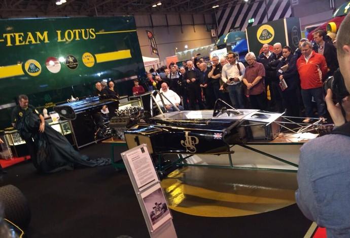 Lotus 72 de Emerson Fittipaldi passa por processo de restauração (Foto: Reprodução / Twitter)