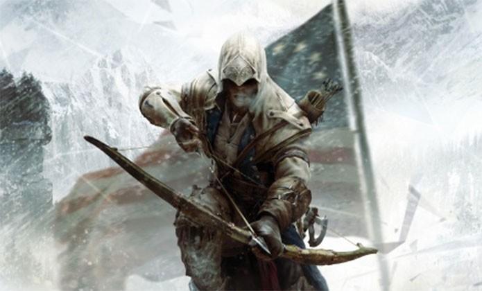 Connor em Assassins Creed 3 (Foto: Divulgação)
