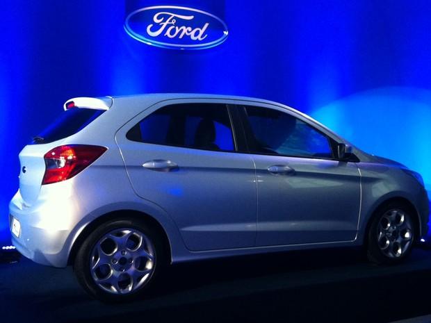 Pela Primeira Vez Um Ford Ka Tera Quatro Portas Foto Luciana De Oliveira