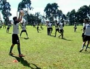 Time intensifica os treinos para o Mineiro (Foto: Reprodução/ TV Integração)