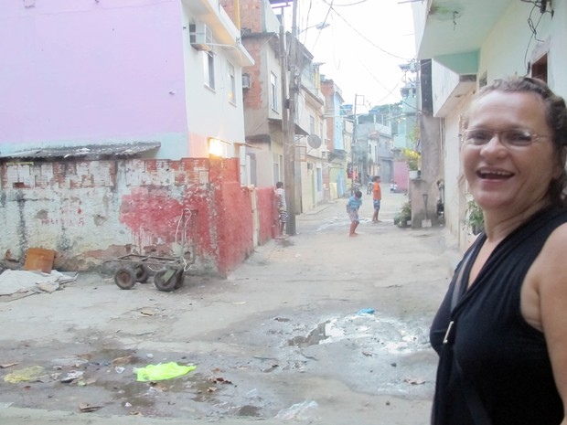 Vista Varginha, comunidade que será visitada pelo Papa Francisco (Foto: Tássia Thum/G1)