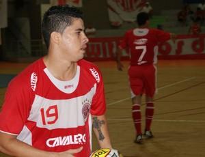 Gildemário, jogador do futsal do América-RN (Foto: Augusto Gomes)