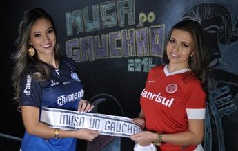 Musa do Gauchão: veja o making of do novo ensaio das duas finalistas