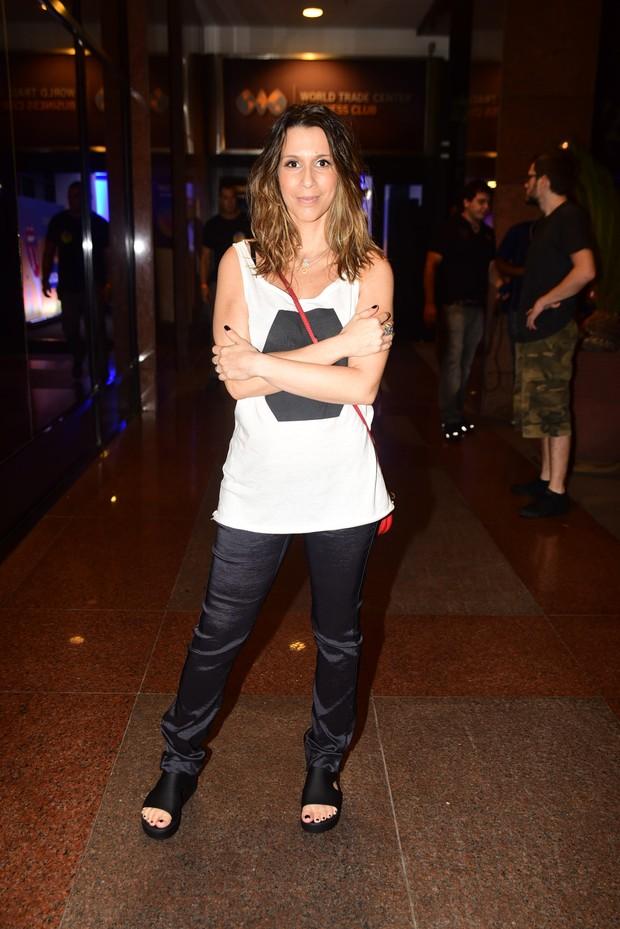 Sarah Oliveira (Foto: Sarah Oliveira vai ao show dos Rolling Stones)