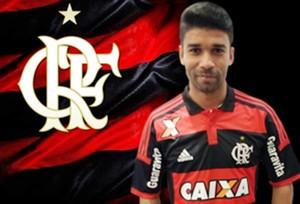 eduardo da silva flamengo (Foto: Site Oficial Flamengo)