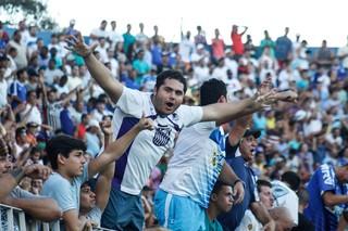 Torcida do goytacaz no jogo contra a portuguesa (Foto: Carlos Grevi / Site Ururau)