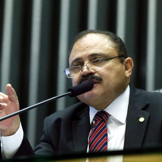 Waldir Maranhão, que assume a Câmara interinamente (Foto: André Coelho/Agência O Globo)