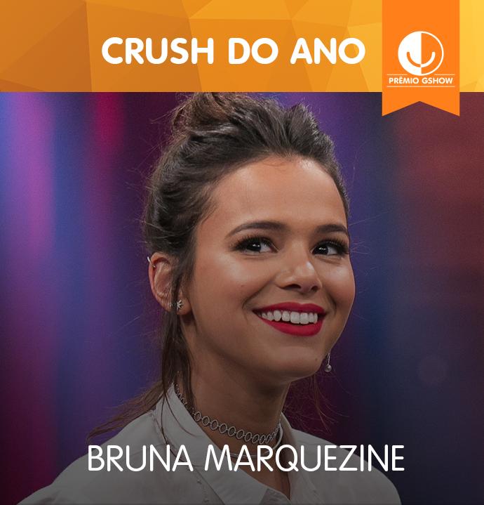 Bruna Marquezine vence o Prêmio Gshow na categoria Crush do Ano (Foto: TV Globo)