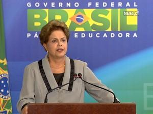 Dilma Rousseff (Gnews) (Foto: Reprodução GloboNews)