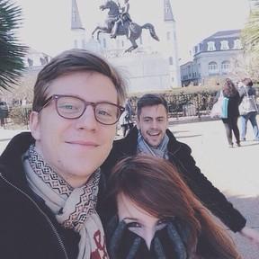 Gustavo Bertoni e Victoria  (Foto: Reprodução/Instagram)