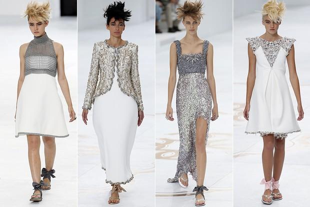 [MODA] Semana de Moda Paris - Desfile Chanel (Foto: Agência AFP)