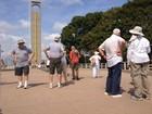 Mais de 1 mil europeus e asiáticos visitam pontos turísticos de Macapá