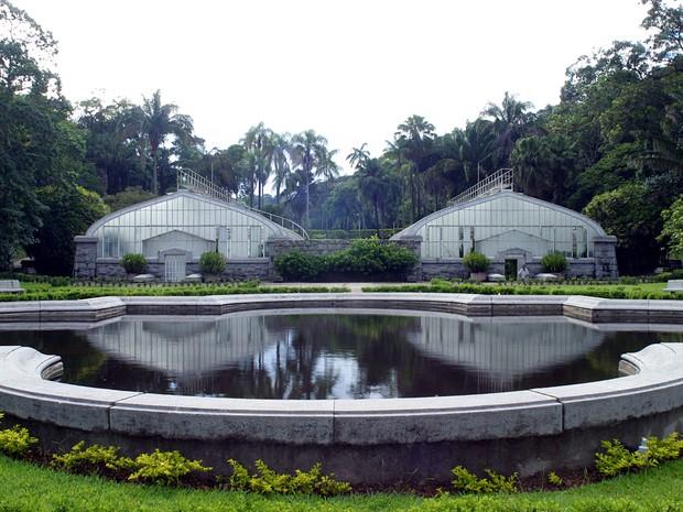 Estufas do Jardim Botânico de SP têm vegetações do Cerrado e da Mata Atlântica. (Foto: Dibulgação/Jardim Botânico)