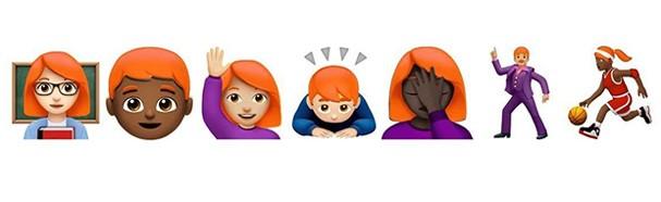 Emoji ruivo (Foto: Reprodução)